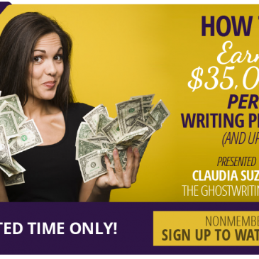 Learn to Make a Living Ghostwriting
