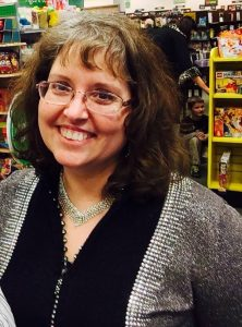 Mystery/Thriller author Jaden Terrell at her book signing hosted by the Cool Springs Barnes & Noble in Brentwood, TN