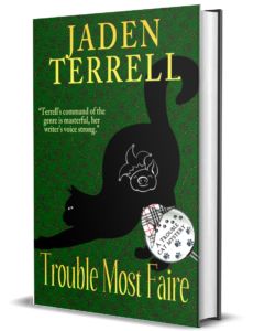 Cover of TROUBLE MOST FAIRE by Jaden Terrell - Book #11 in the Multi-author Trouble Cat Mystery Series